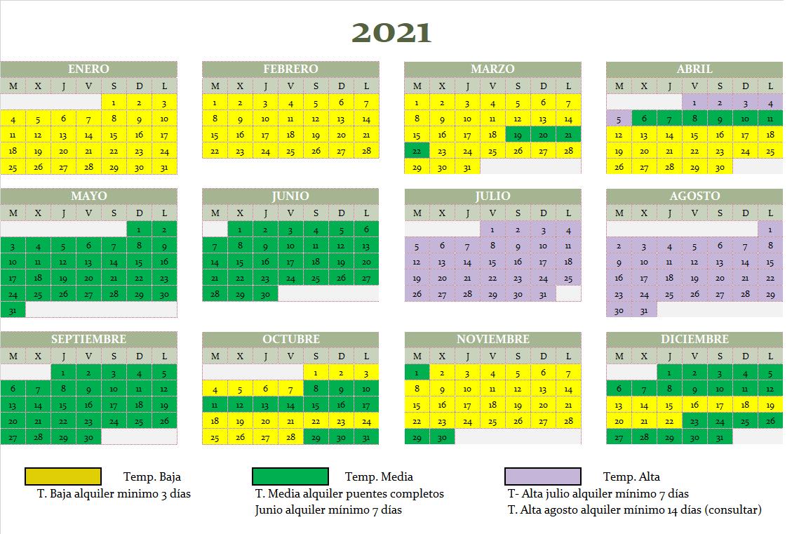 calendario alquiler 2021